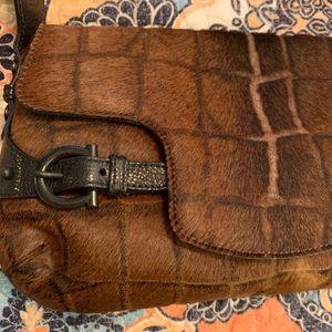 RARE Limited Edition S. Ferragamo PONY HAIR BAG